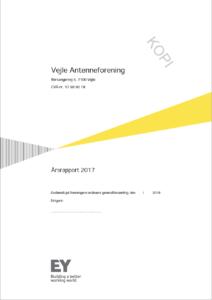 Års rapport Vejle Antenneforening