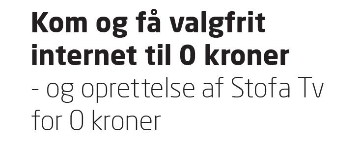 Vejle Antenneforening holder Stofa holder event i Vejle