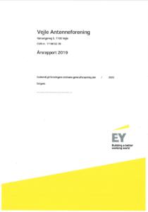 Vejle Antenneforening - Årsrapport og regnskab for 2019